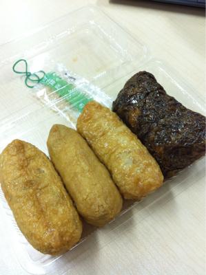 津田沼駅で買った大阪の味な昼ごはん