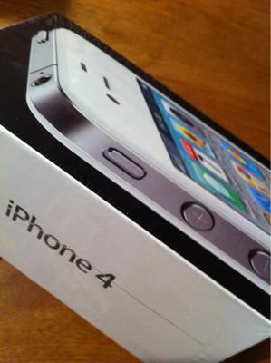 いまさらiPhone4?