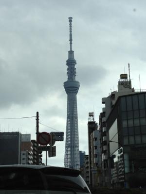 東京スカイツリーと今週のアラマキさん