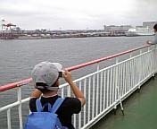 苫小牧港着岸