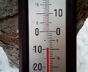 ゲレンデ気温