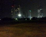 夜中の幕張海浜公園