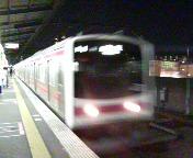 京葉線各駅で