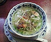 馬バラ肉のスープ