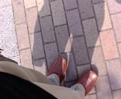 夏の足もと