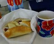 休日出勤な昼ご飯