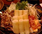 秋田な夕飯