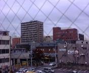 秋田は曇り