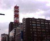 札幌はドヨヨンな曇り空