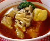 薬膳スープカレーな昼ご飯
