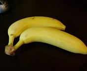 バナナな朝ご飯