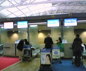 仁川国際空港チェックイン