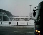 広島空港は雪