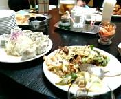 仙台榴ヶ岡な夕飯