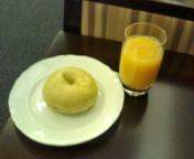 プレミアラウンジな朝ご飯