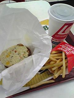 金浦空港の朝ご飯